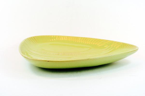 RetroCrafts Keramikfat från Upsala Ekeby design Mari Simmulson limegrönt folkhemmet keramik