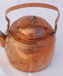 Kopparpanna - Kaffepetter med piplock och nitar