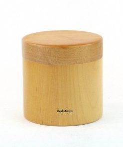 Lockburk - Träburk från Boda Nova av askträ helhet