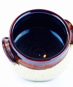 Keramikkrus, kruka - Jussi Keramik Mariehamn Åland insida