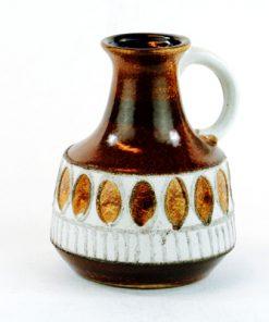 Keramikvas - hänkel Fat Lava VEB Haldensleben 1970-tal
