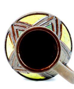 Keramikvas NIE - Bromma keramik Ninnie Forsgren insida