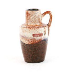 Keramikvas - Fat Lava Scheurich original etikett helhet