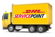 RetroCrafts fraktar med DHL Service Point