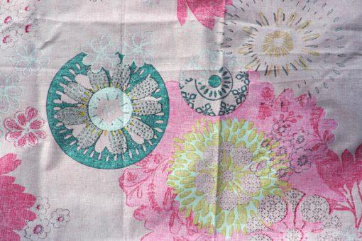 Retrotextil Mandala av STOF Creation France detalj baksida
