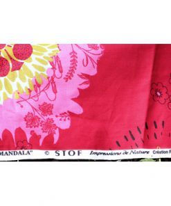 Retrotextil Mandala av STOF Creation France signatur