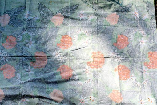 Retrotyg – Hjorton tryckt bomullstyg 70-tal helhet baksida