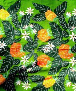 Retrotyg – Hjorton tryckt bomullstyg 70-tal helhet