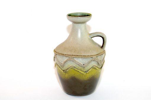 Keramikvas – Fat Lava Strehla Keramik 1304 East Germany