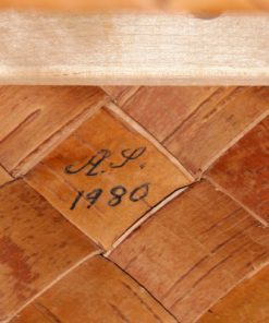 Naverkont AS - Halsingland ryggband laderhandtag 1980 signatur