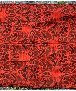 Draperi - Retrotextil vävd ull mustiga färger och mönster