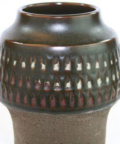 Keramikvas – Thomas Hellström THO för Nittsjö Keramik detalj glasyr
