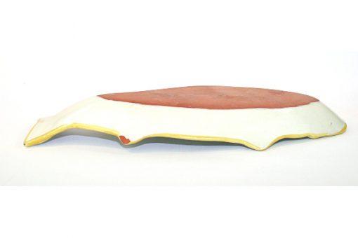 Keramikfat – Fiskfat fajans troligen Nittsjö undersida