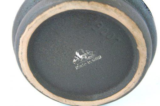 Keramikvas – Strehla Keramik 9001 Fat Lava East Germany detalj signatur