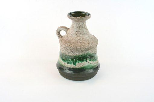 Keramikvas – Strehla Keramik 9001 Fat Lava East Germany sida