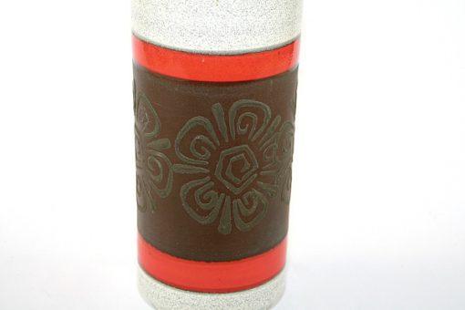 Keramikvas - Dümler & Breiden cylindervas 1970-tal detalj