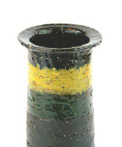 Keramikvas – Laholms Keramik 849 drejad stengods detalj glasyr