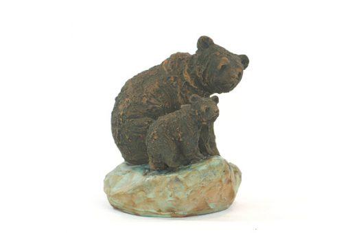 Björn - Skulptur Harry Tilgmans keramik hona & unge sida2
