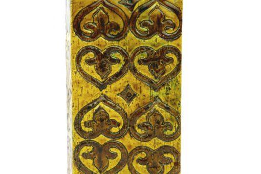 Blockvas - Bitossi keramikvas Moresco Aldo Londi detalj