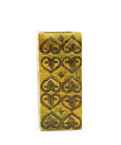 Blockvas - Bitossi keramikvas Moresco Aldo Londi baksida