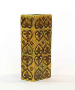 Blockvas - Bitossi keramikvas Moresco Aldo Londi