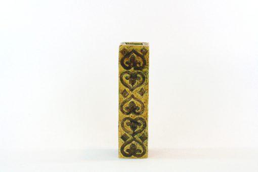 Blockvas - Bitossi keramikvas Moresco Aldo Londi sida1