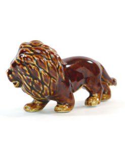 Lejonfigurin - Lion av chamotte eller porslin sida