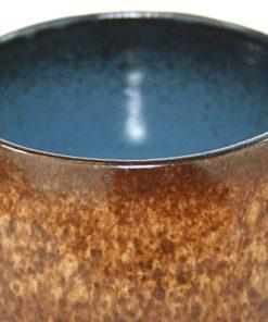Keramikskål – Fat Lava Strehla Keramik 7013 East Germany detalj