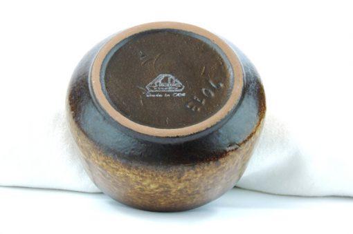 Keramikskål – Fat Lava Strehla Keramik 7013 East Germany stampel
