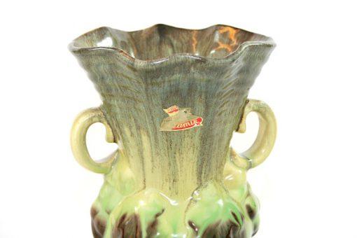 Keramikvas – Bay Keramik 295/17 Fat Lava detalj folie etikett