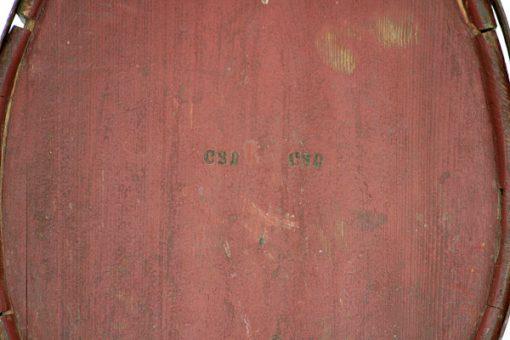 Brännvinskagge - 1800-tal stämplad CSD Hälsingland stampel
