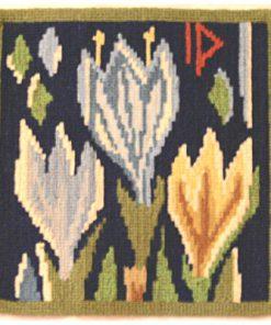 Väggtavla - Textil tulpaner Ingrid Dessau signerad ID