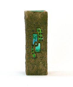 Keramikvas – Blockvas 671 från Tilgmans Keramik baksida