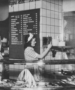 Linnedamast - Duk från restaurang NORMA 1935 ostermalms saluhall