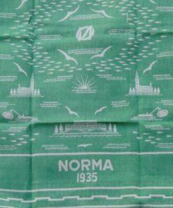 Linnedamast - Duk från restaurang NORMA 1935
