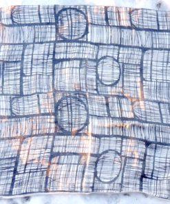 Retrotextil - Retrotyg duk 1950-tal tryckt på vävt linne