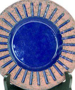 Keramikfat - Koboltblått från Gabriel Sweden 1037-038 detalj framsida