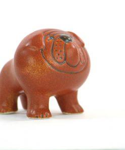 Bulldog – Figurin signerad Lisa Larson Gustavsberg sida2