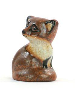 Keramikfigurin – Räv Nittsjö THO Thomas Hellström sida