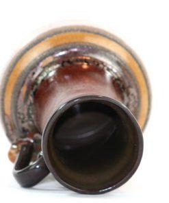 Strehla 9011 - Keramikvas Fat Lava glitter oppning