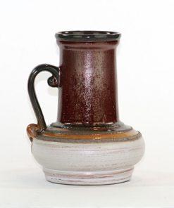 Strehla 9011 - Keramikvas Fat Lava glitter sida2