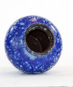 Strehla 1439 – Keramikvas fint melerad kobolt blå öppning
