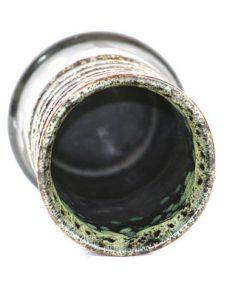 Keramikvas – Strehla Keramik spiral Fat Lava oppning