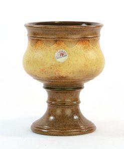 Ü-Keramik skål på fot, pokal Überlacker 378/16