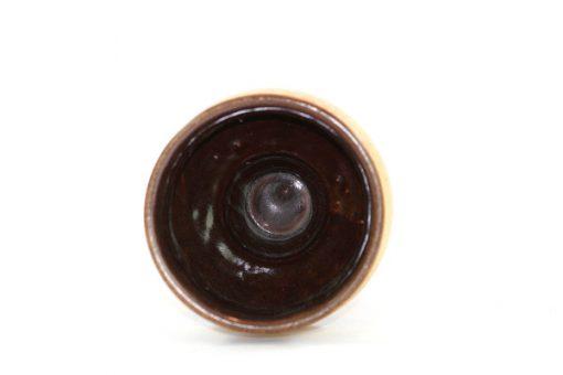 Ü-Keramik skål på fot, pokal Überlacker 378/16 insida