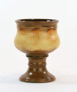 Ü-Keramik skål på fot, pokal Überlacker 378/16 sida2