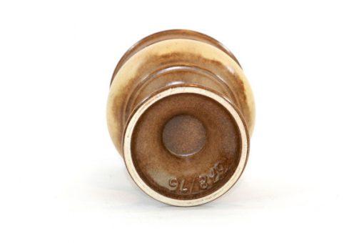 Ü-Keramik skål på fot, pokal Überlacker 378/16 undersida
