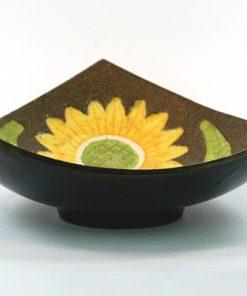 Gabriel keramik - Solrosfat keramikfat stämplat S10