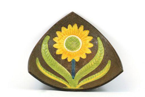Gabriel keramik - Solrosfat keramikfat stämplat S10 helhet