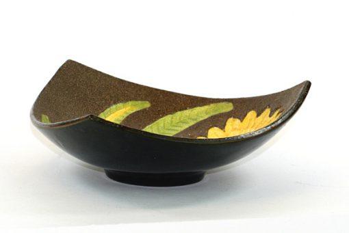 Gabriel keramik - Solrosfat keramikfat stämplat S10 vertikal